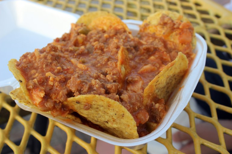 A photo of Nokey Rotel, a rotel dip available at the Let the Good Times Roll festival
