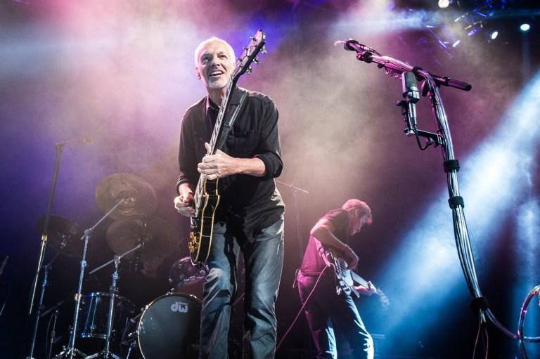 A photo of rock guitarist Peter Frampton