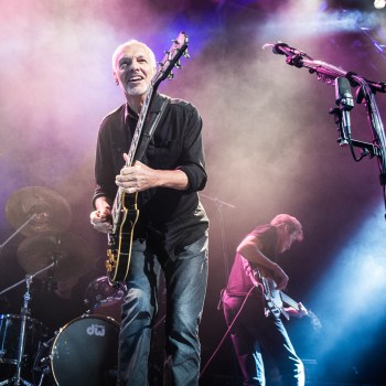 A photo of rock guitarist Peter Frampton