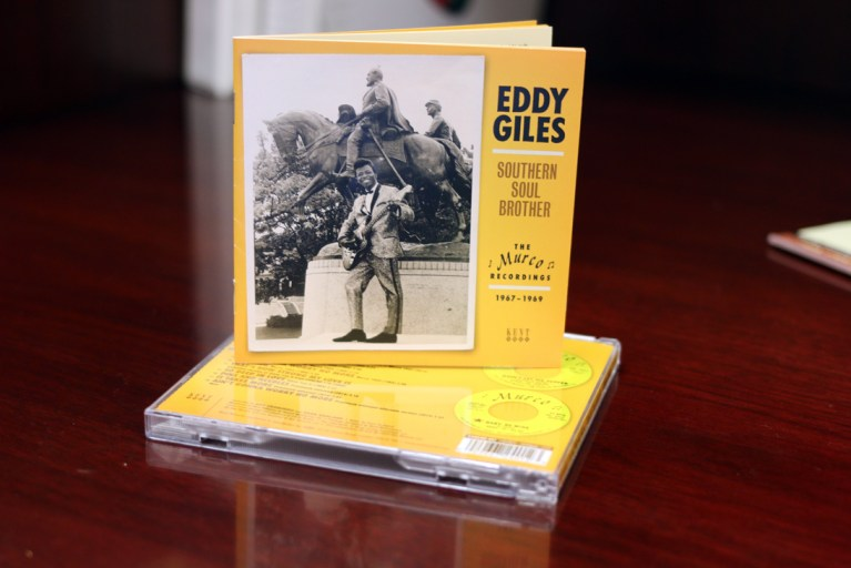 A photo of an Eddy Giles CD