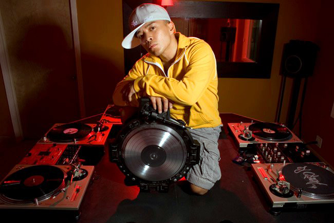 A photo of DJ Qbert
