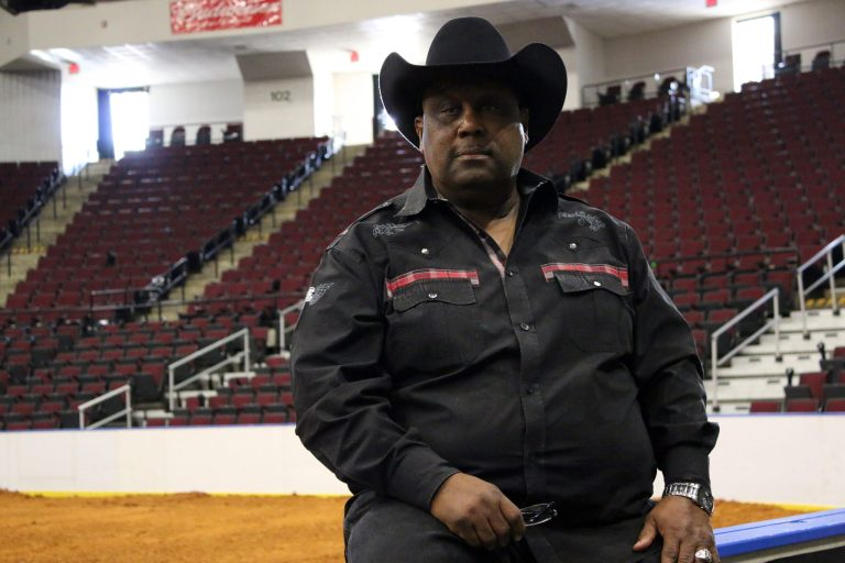 A photo of Real Cowboy Association president Frank Edwards