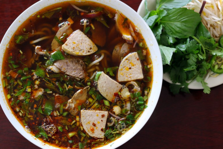 A photo of pho