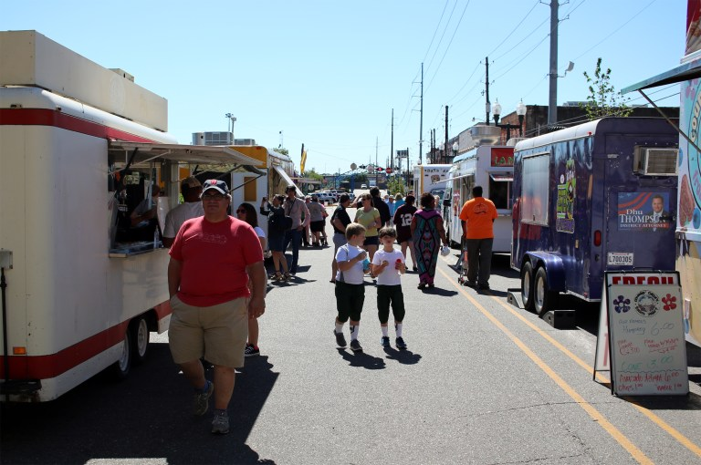 A photo of food trucks in Shreveport