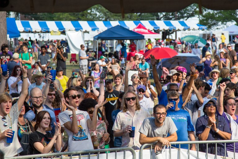 A photo of the Highland Jazz and Blues Festival in Shreveport