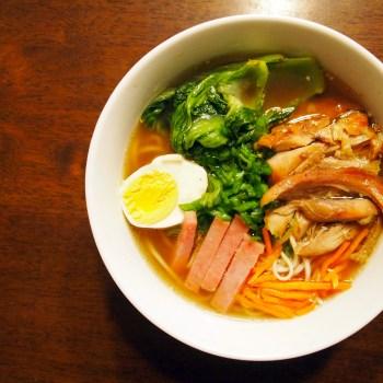 A photo of Hawaiian soup