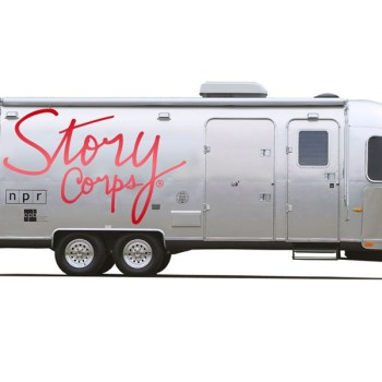 A promotional image provided by StoryCorps