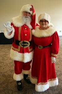 A photo of Santa Claus