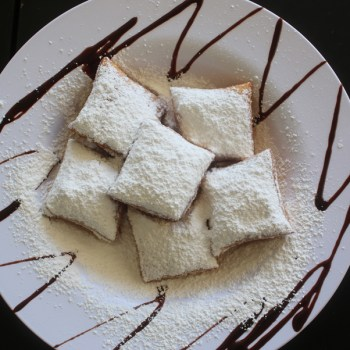 A photo of beignets from Marilynn's Place