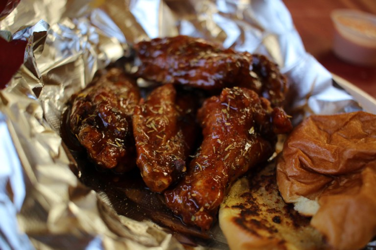A photo of wings from Wing Taxi