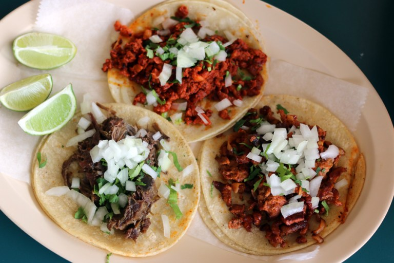 A photo of tacos