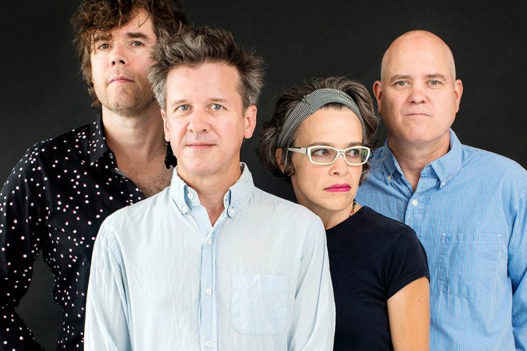 A photo of the rock band Superchunk