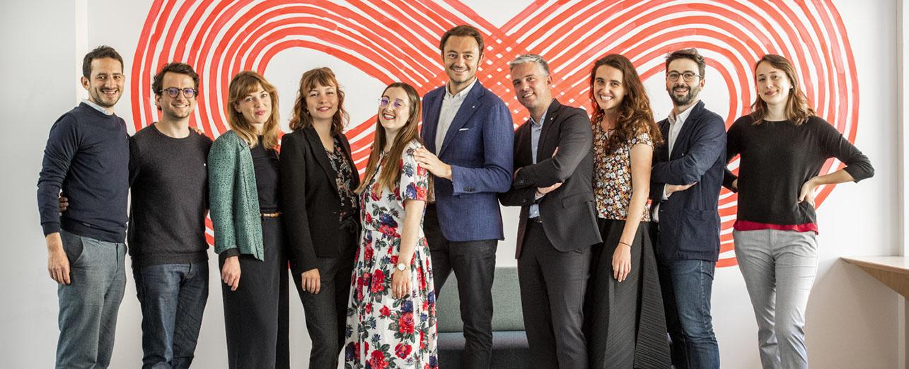 Equipe 21 accélérateur innovation sociale croi rouge