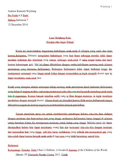 Latar Belakang Bahasa Indonesia : latar, belakang, bahasa, indonesia, Bahasa, Indonesia, Andrew's