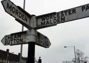 North Cheam / Queen Victoria crossroads