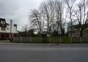 Waiting for the bus at Lindsay Road