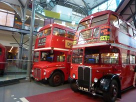 Routemaster (l), RT (r) - sorry it's so blurry, wrong camera setting