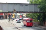 RF Type under Worcester Park Railway Bridge