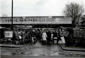 Last day of Monday Market before demolition of covered section, March 2nd 1970. Kingston Museum and Heritage Service