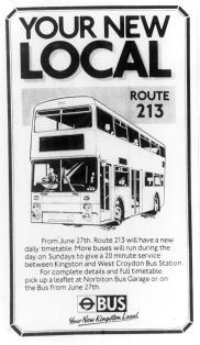 Extract from Surrey Comet, 26 June 1987 p10)