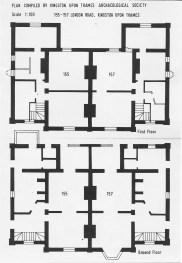 Plan of 155-157 London Road