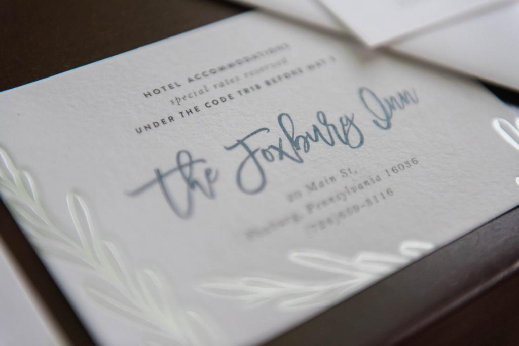 Silver Foil Wedding Invitations | Blush Paper Co.