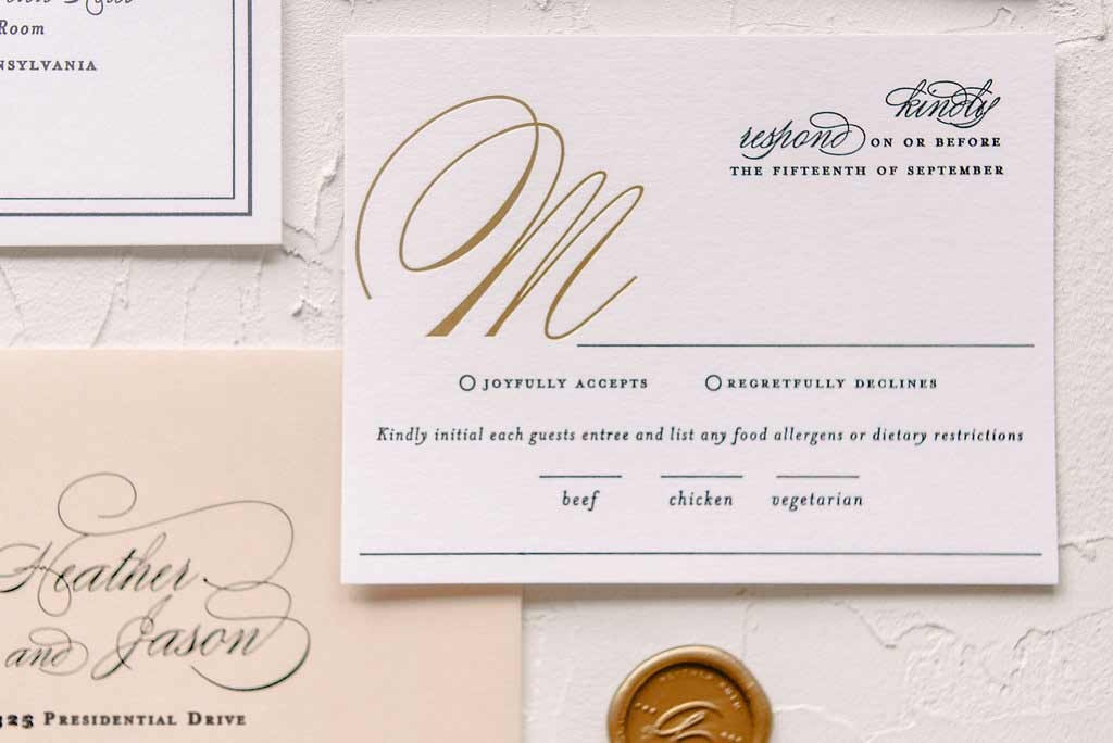 Marsala, Gold and Blush Wedding Invitations | Blush Paper Co.