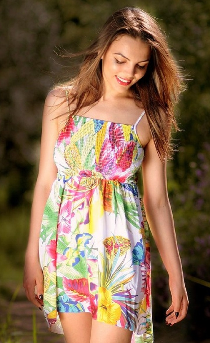 Beautiful Summer Dress For Ladies