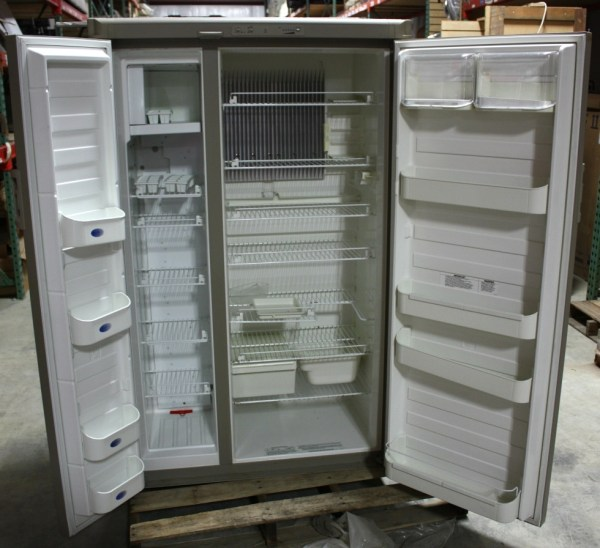 Rv Appliances Used Dometic Ndr1492 Dimensions 2 Door Refrigerator
