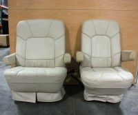RV Furniture USED RV LEATHER LOOK CAPTAIN CHAIRS FOR SALE ...