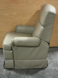 RV Furniture USED MOTORHOME ULTRA LEATHER FLEXSTEEL SWIVEL ...