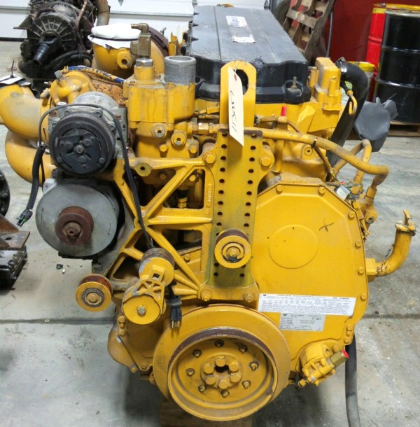 Cat C13 Engine - Year of Clean Water