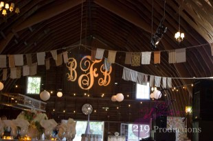 Blue Dress Barn Benton Harbor, Michigan Monogram