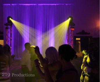 Wedding Lighting Halls of Justice