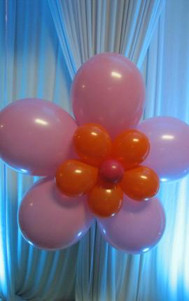 Giant Balloon Flower - It's My Party