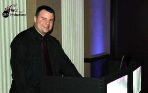 DJ Chris Florek at the LARC Annual Appreciation Dinner