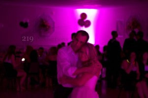 susie and father first dance - disc jockey