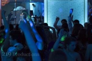 Dancing at Lido Banquets with Uplighting