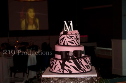 Mia's Quincenera Cake at Lighthouse Restaurant in Cedar Lake