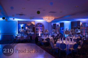 Uplighting at Lido Banquets