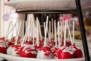 Cake Pops Graduation Party St. Thomas More