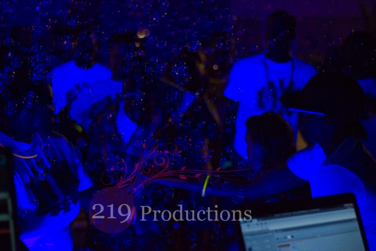 Club Puc Global Get Down Black Light Party Purdue