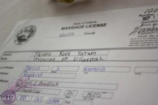 Marriage Certificate Innsbrook Country Club Wedding