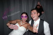 Ashley and Matt's Wedding Vows |Centennial Park | Munster Photo booth