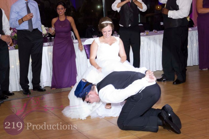 Munster Wedding Garter Removal