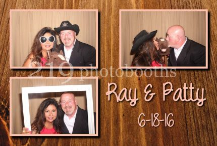 Banquets of St George Wedding Photobooth Strip Wood