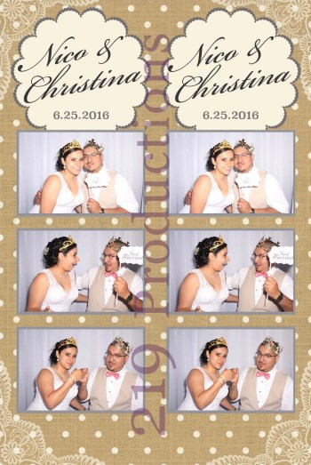 Wicker Park Wedding Photo Booth
