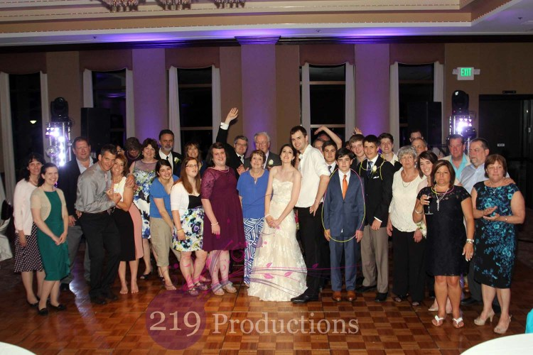 Munster Theatre Wedding Uplighting