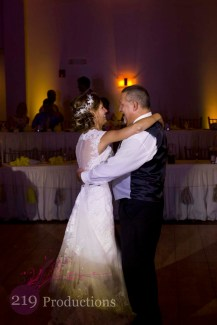 Signature Banquets Wedding DJ Father Daughter Dance Spotlight Highlight