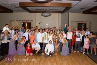 Signature Banquets Wedding DJ Smile Group Photo